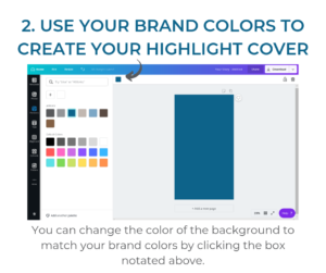 How to Create Instragram Highlight Covers
